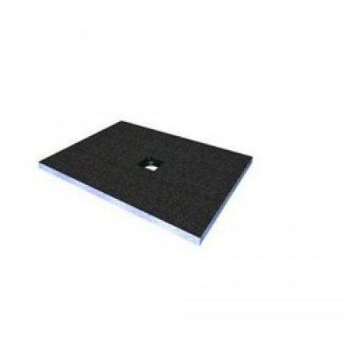 Abacus Elements Square Level Access Shower Tray 30mm High With Centre Drain - 900mm x 900mm